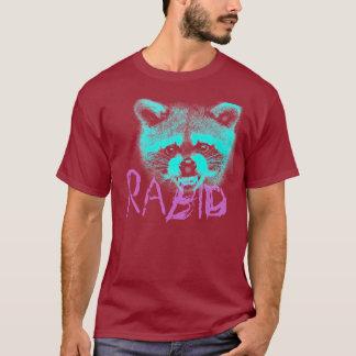 Pièce en t rabique de raton laveur t-shirt