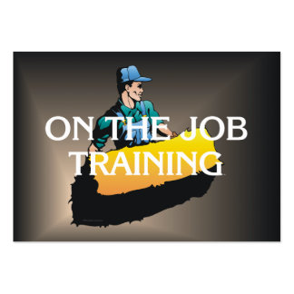 PIÈCE EN T sur la formation à un emploi Modèles De Cartes De Visite