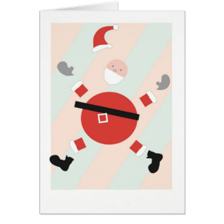 Piece-Full Santa Holiday Card
