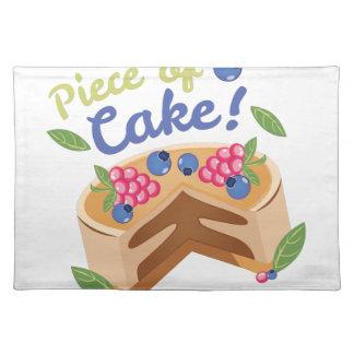 Piece of Cake Place Mats
