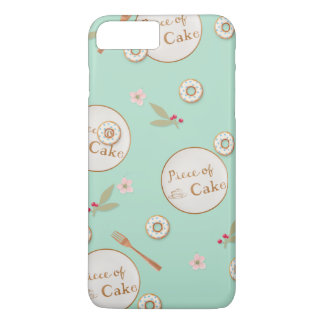 Piece of Cake Summer Desserts iPhone 8 Plus/7 Plus Case