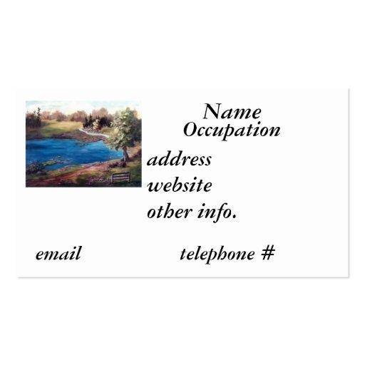 Piece of Eden Business Card
