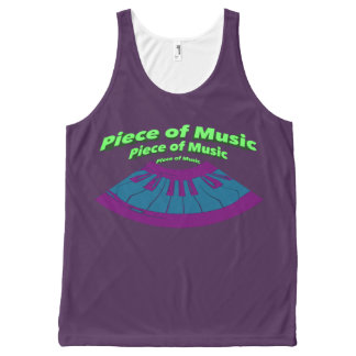 Piece of Music All-Over-Print Tank Top