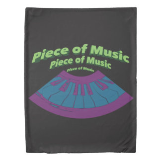 Piece of Music Duvet Cover