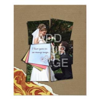 Piece of My Heart Wedding Poster Photo Enlargement Photo Print