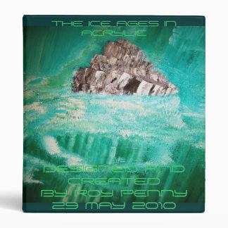Piece of the Glacier Rock Vinyl Binders