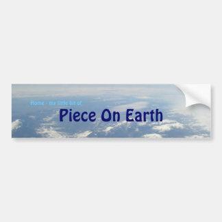 Piece On Earth Bumper Sticker