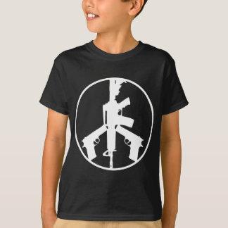 Piece Peace Guns Black T-Shirt | U.S. Custom Ink