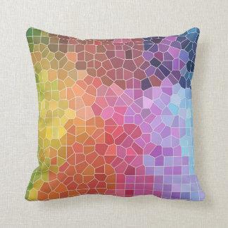 Pieces of Colour Throw Pillow