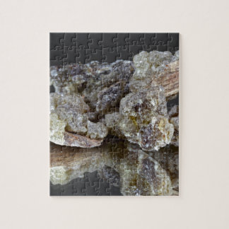Pieces of natural frankincense jigsaw puzzle