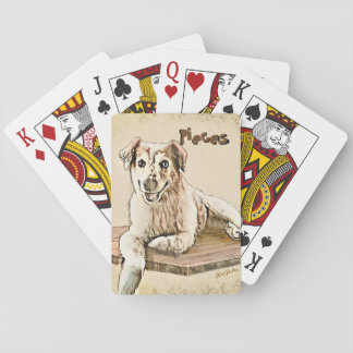 """""""Pieces"""", Standard Index playing cards"""
