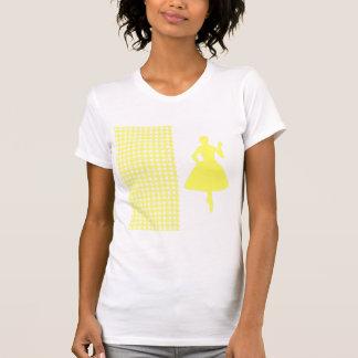 Pied-de-poule moderne de limonade avec la t-shirts