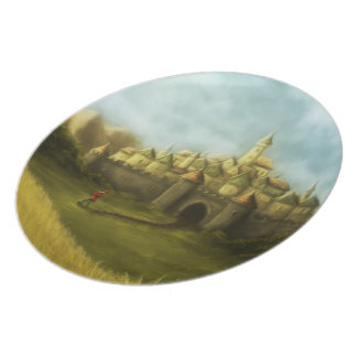 pied piper of hamelin plate