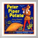 Pied Piper Potato Poster