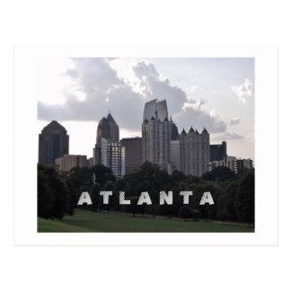 Piedmont Park Atlanta Postcard