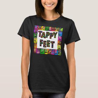 Pieds de Tappy - T-shirt de danse de robinet