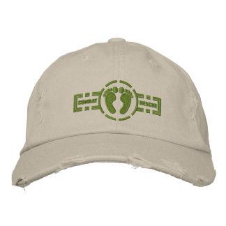 Pieds verts du casquette | de rondeau de chapeau brodé