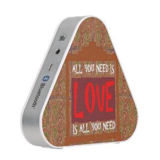 Pieladium Speaker  ALL U NEED IS LOVE SCRIPT QUOTE