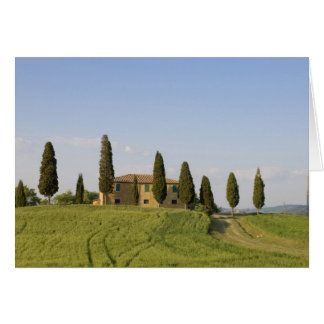 Pienza, Val d'Orcia, Siena province, Tuscany, Card