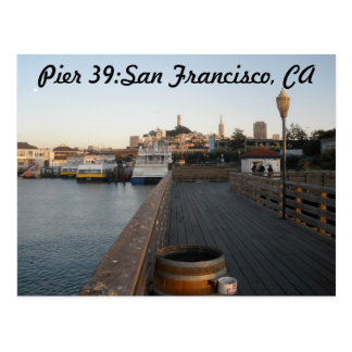 Pier 39:San Francisco,CA Postcard