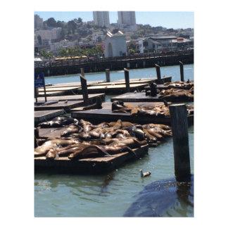 Pier 39 San Francisco California Letterhead