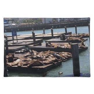 Pier 39 San Francisco California Placemat