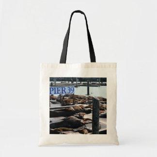 Pier 39 Sea Lions in San Francisco Tote Bag