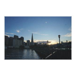 Pier 7, San Francisco #4 Canvas