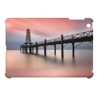Pier at sunset cover for the iPad mini
