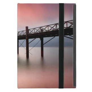 Pier at sunset iPad mini cover