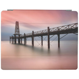 Pier at sunset iPad smart cover