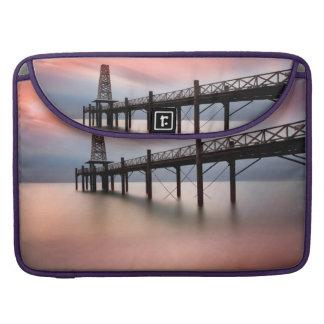Pier at sunset sleeve for MacBooks