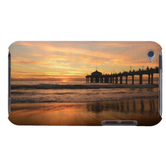 Pier beach sunset barely there iPod case