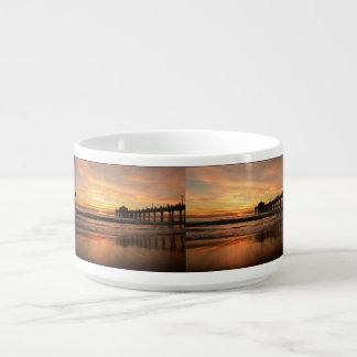 Pier beach sunset bowl