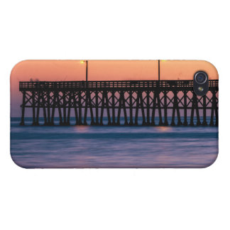 Pier beach sunset case for the iPhone 4