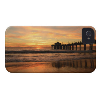 Pier beach sunset Case-Mate iPhone 4 case