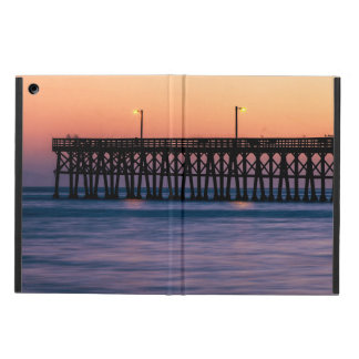 Pier beach sunset iPad air cover