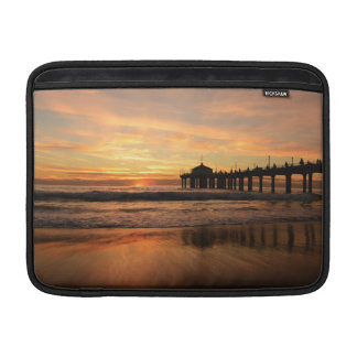 Pier beach sunset MacBook air sleeves
