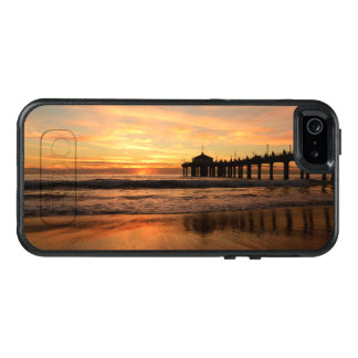 Pier beach sunset OtterBox iPhone 5/5s/SE case