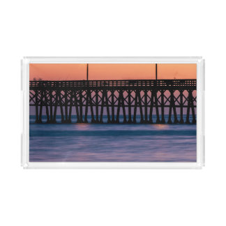 Pier beach sunset perfume tray