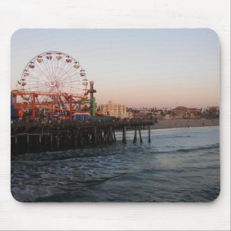 Pier Ferris Wheel Mouse Pad