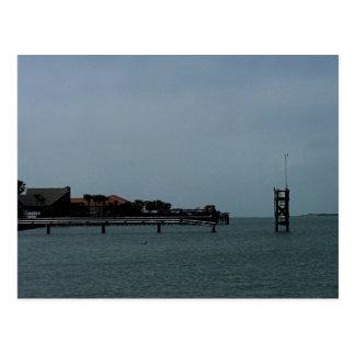 Pier in Aransas Pass Postcard