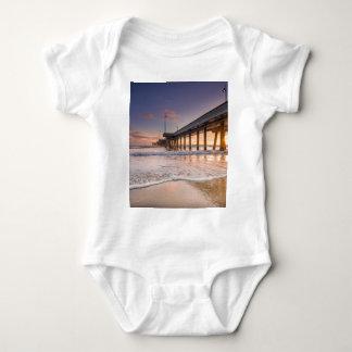 Pier on the Beach Baby Bodysuit