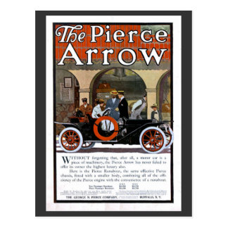 Pierce Arrow Motor Car Postcard