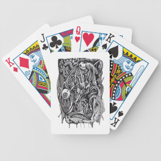 Pierced, by Brian Benson Bicycle Playing Cards