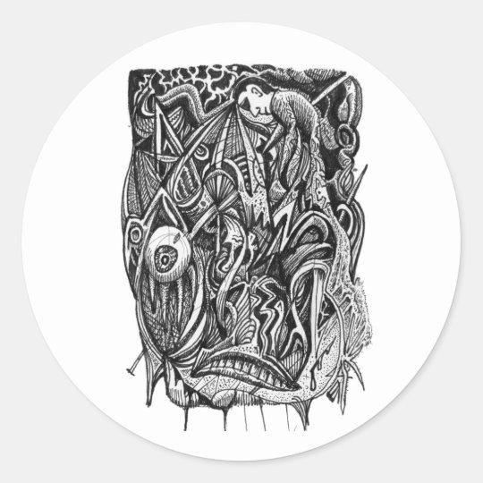 Pierced, by Brian Benson, sticker