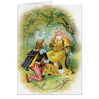 Piercinet  And Graciosa Proposal Card