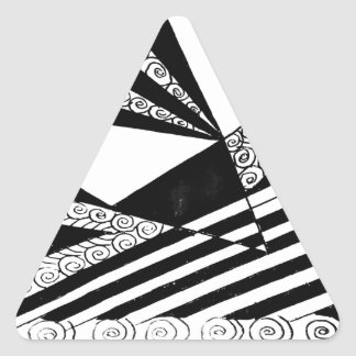 Piercing Levels of Expectations Triangle Sticker