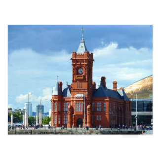 Pierhead Building, Cardiff, Wales, UK Postcard