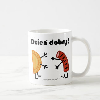 Pierogi & Kielbasa - Customizable Coffee Mug